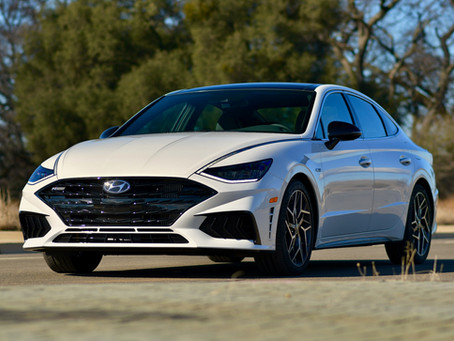 2021 Hyundai Sonata N Line Tested