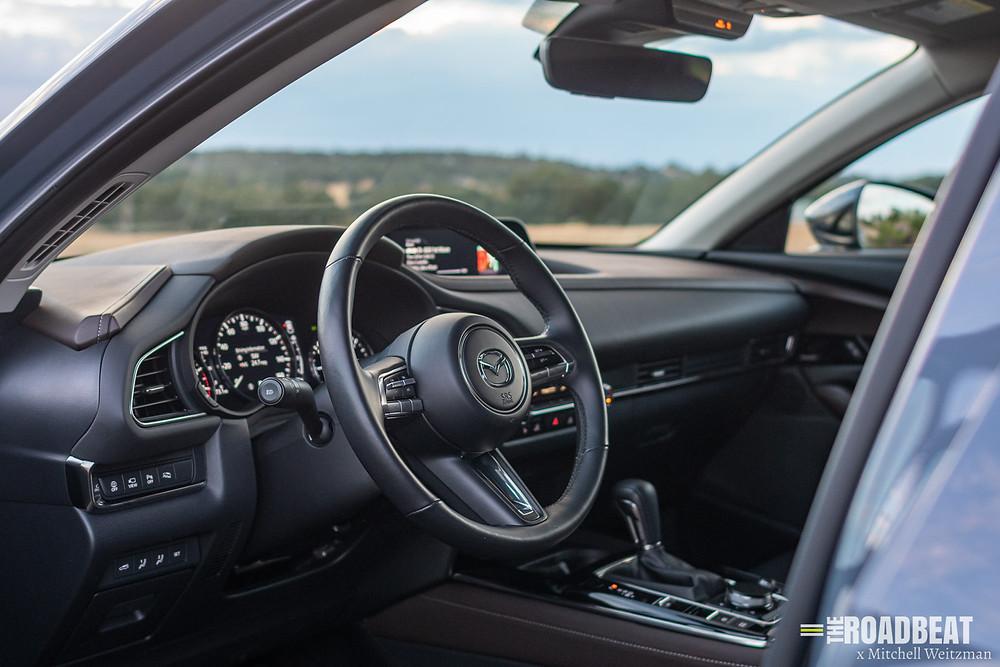 2021 mazda cx-30 turbo test drive