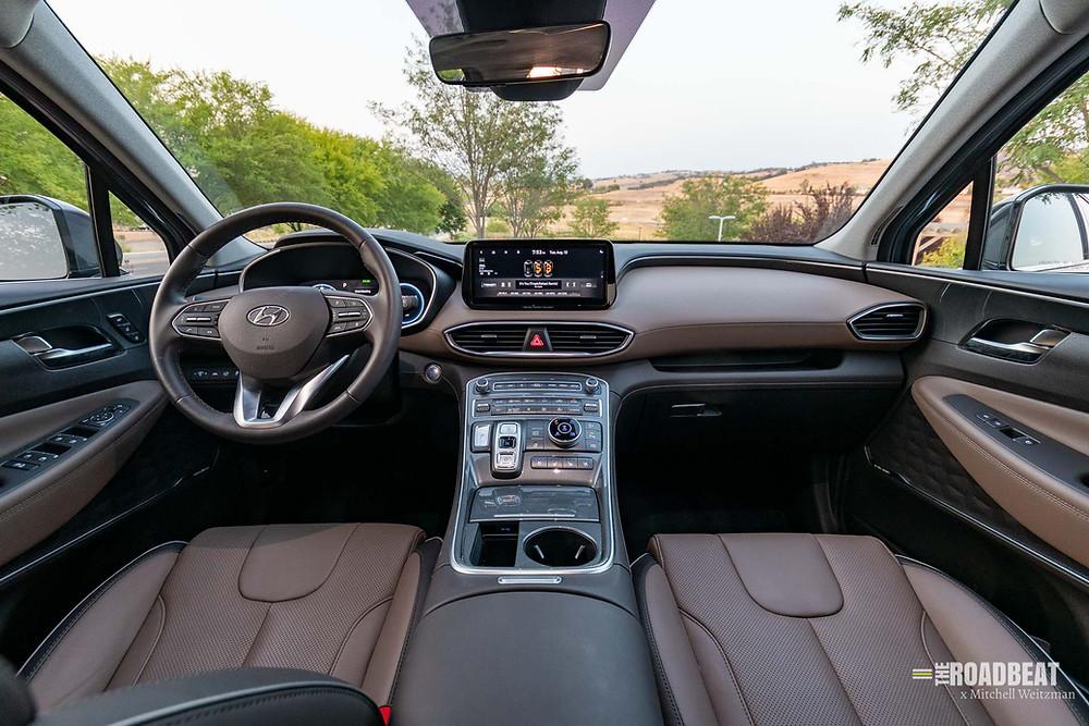 2021 Hyundai Santa Fe Limited interior