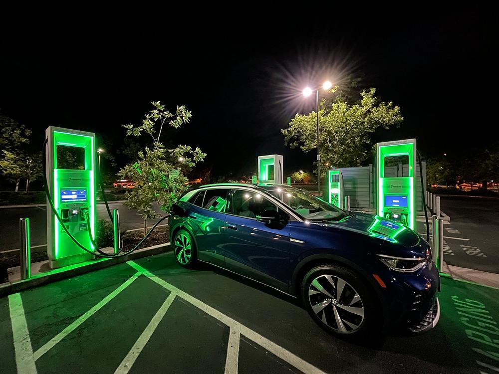 electrify america charging volkswagen ID.4