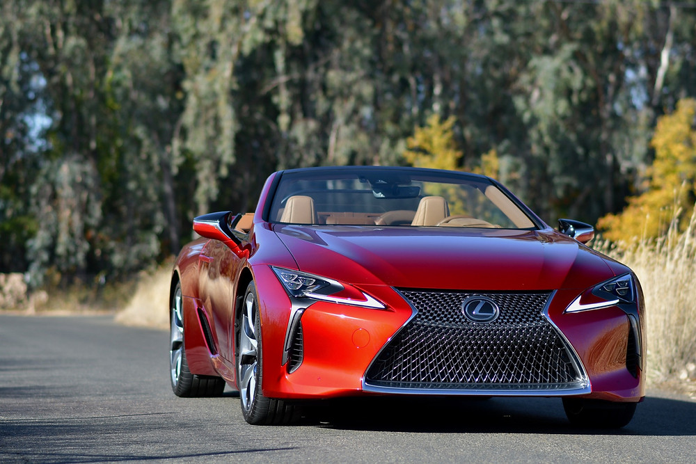 lexus lc500 convertible review | the road beat