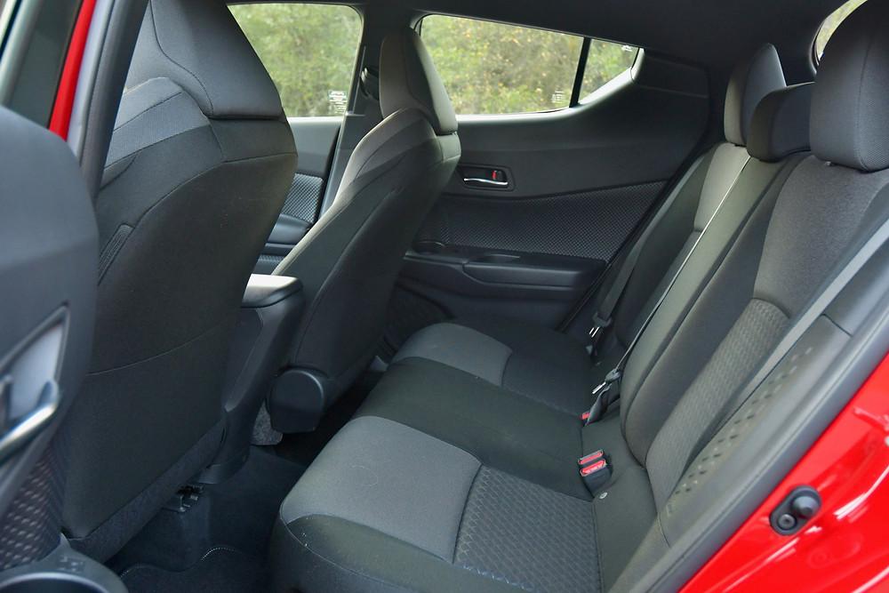 2021 Toyota C-HR interior | The road Beat