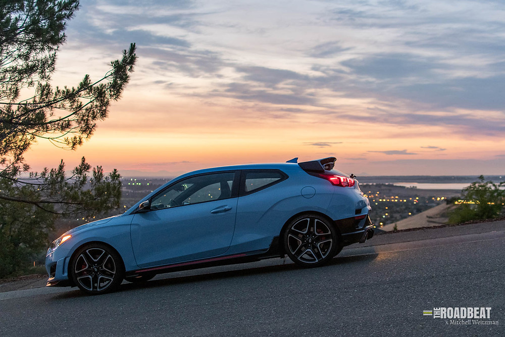 2021 Hyundai Veloster N review by The Road Beat