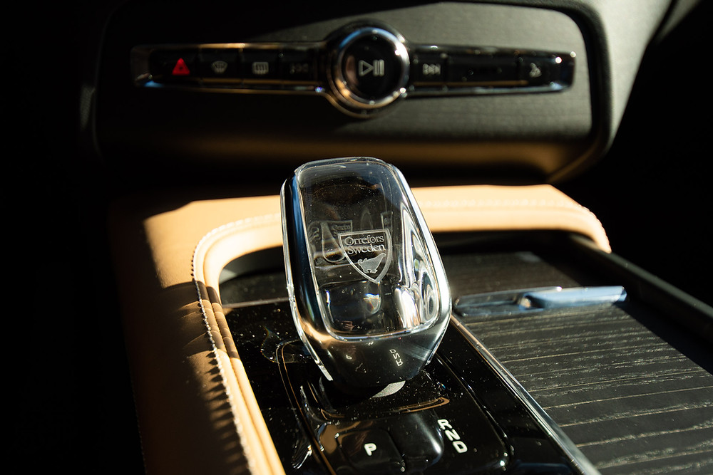 2021 Volvo XC90 Inscription Crystal Shift knob