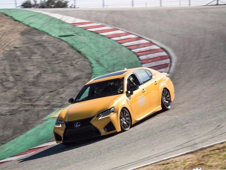 2020 Lexus GS F Track Review at Laguna Seca