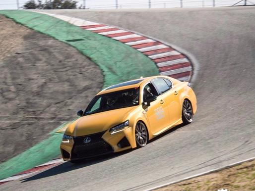 2020 Lexus GS F Track Review at Laguna Seca