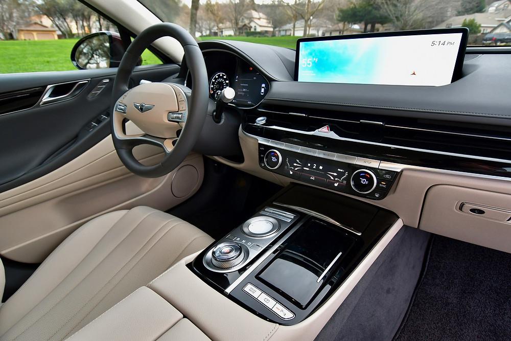 2021 Genesis G80 Interior | The Road Beat