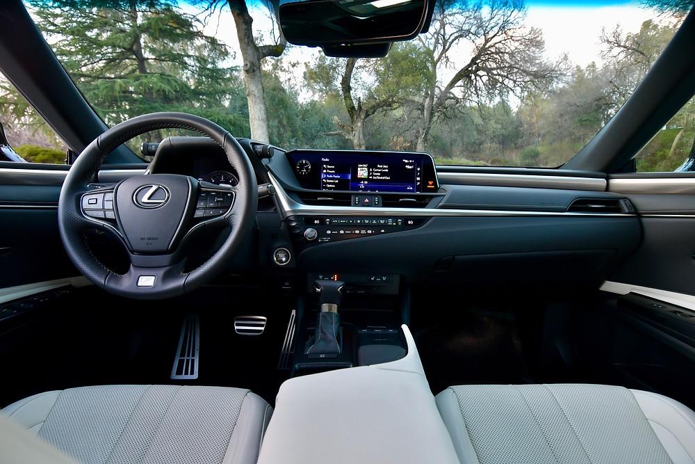 2021 Lexus ES 350 F Sport Interior | The Road Beat
