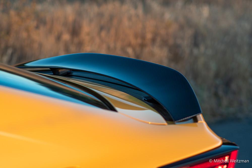 2021 Lexus RC F carbon wing