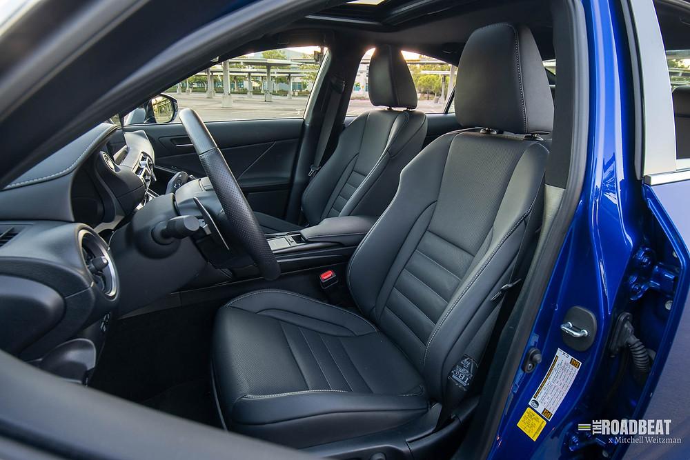 2021 Lexus IS 350 F Sport interior review