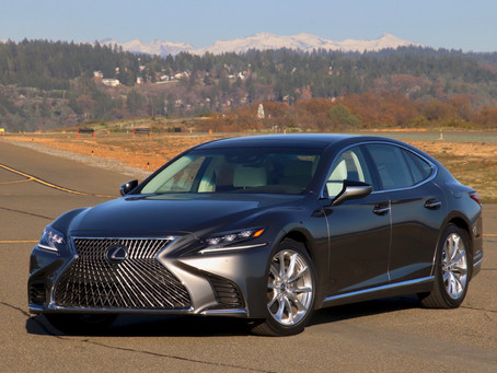 2020 Lexus LS500 Review