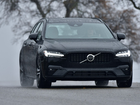 Review: 2021 Volvo V90 T6 AWD R-Design