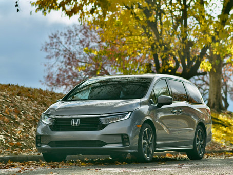 2021 Honda Odyssey Elite Review