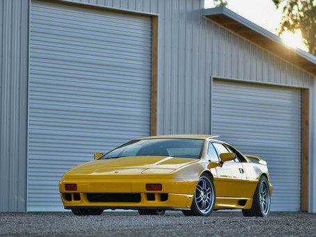 Lotus Esprit SE Photoshoot