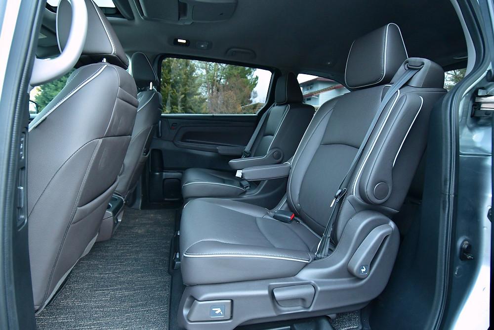 2021 Honda odyssey elite interior | the road beat