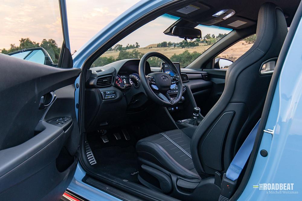 2021 Hyundai Veloster N interior review   The Road Beat