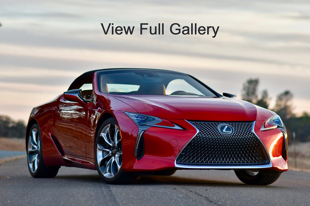 2021 lexus lc 500 Infrared convertible | the road beat