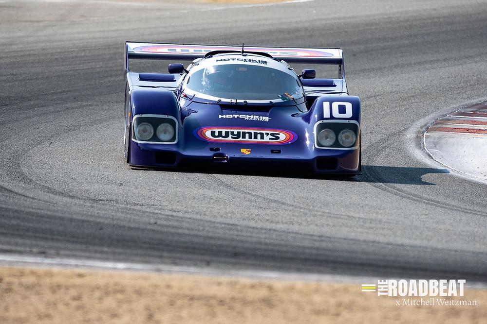 Porsche 962 racing