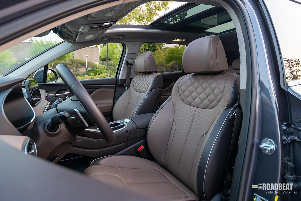 2021 Hyundai Santa Fe Limited interior review