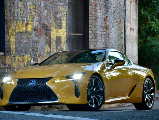 Lexus LC 500h Tested: Absolute Magnificence