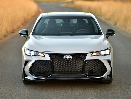 2021 Toyota Avalon TRD Review - For Whom it May Concern