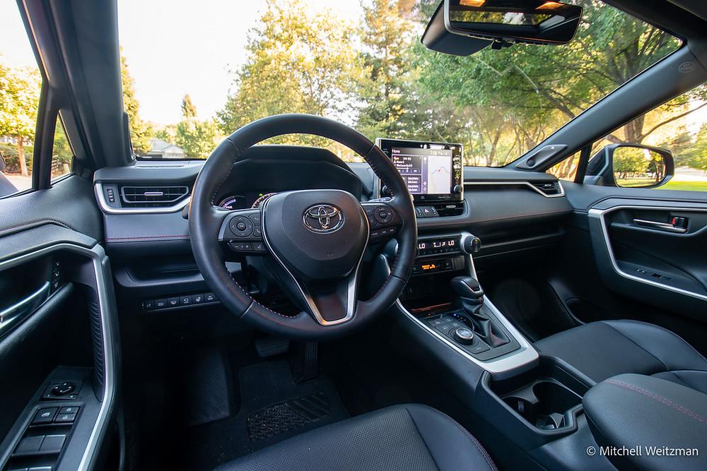 2021 Toyota RAV4 Prime review   interior image