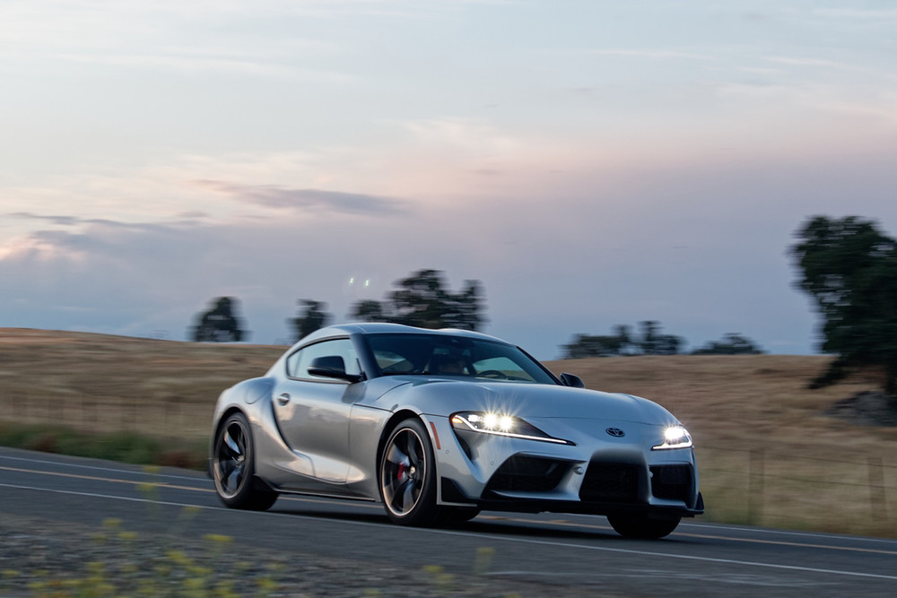 2020 Toyota Supra tested by the Road Beat