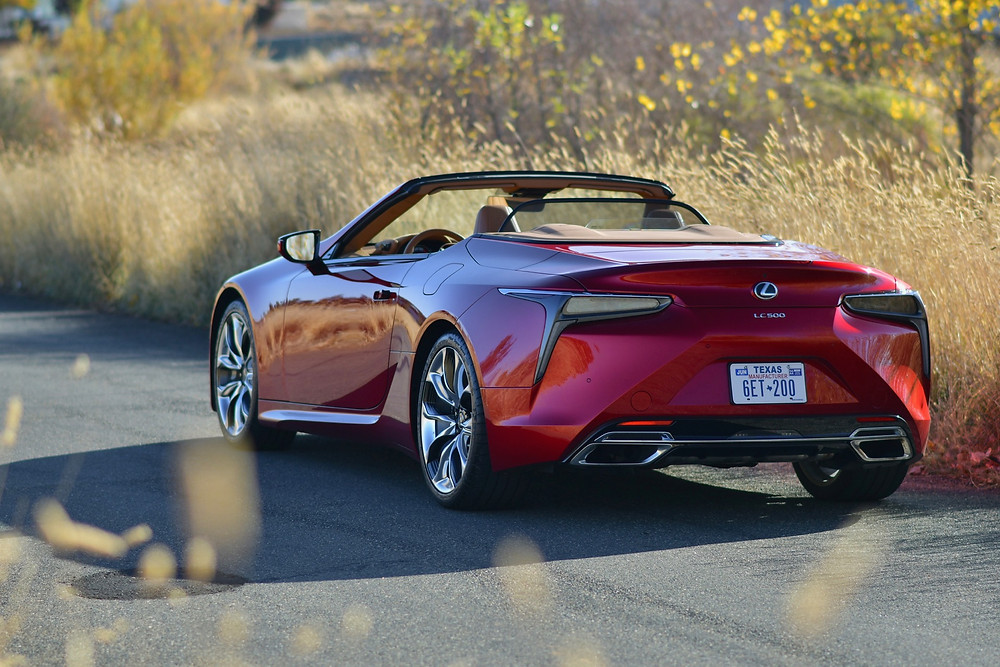 2021 Lexus LC 500 Convertible Review | the road beat