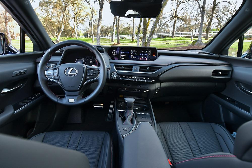 2021 Lexus UX 200 F Sport Interior Review | The Road Beat