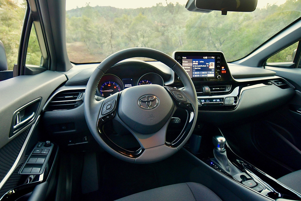 2021 Toyota C-HR Nightshade interior | The road Beat