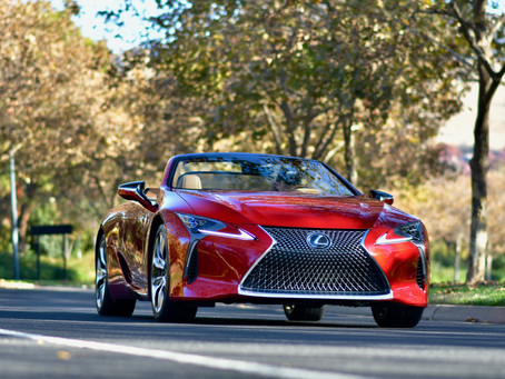 2021 Lexus LC 500 Convertible Review
