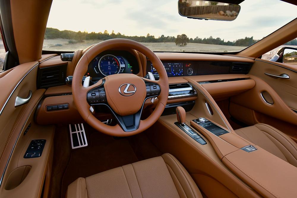 2021 lexus lc 500 interior | the road beat