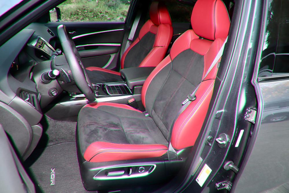 interior photo of 2020 acura MDX A-Spec