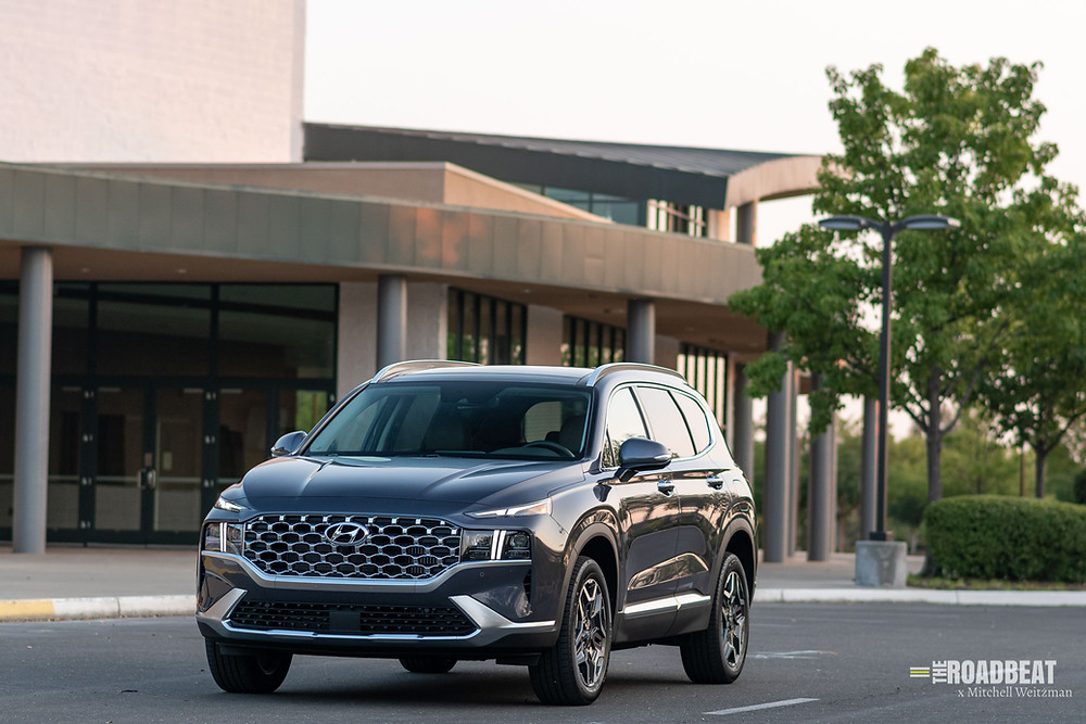 2021 Hyundai Santa Fe Hybrid Limited review