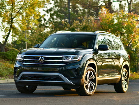 2021 Volkswagen Atlas SEL Premium Review and Photos