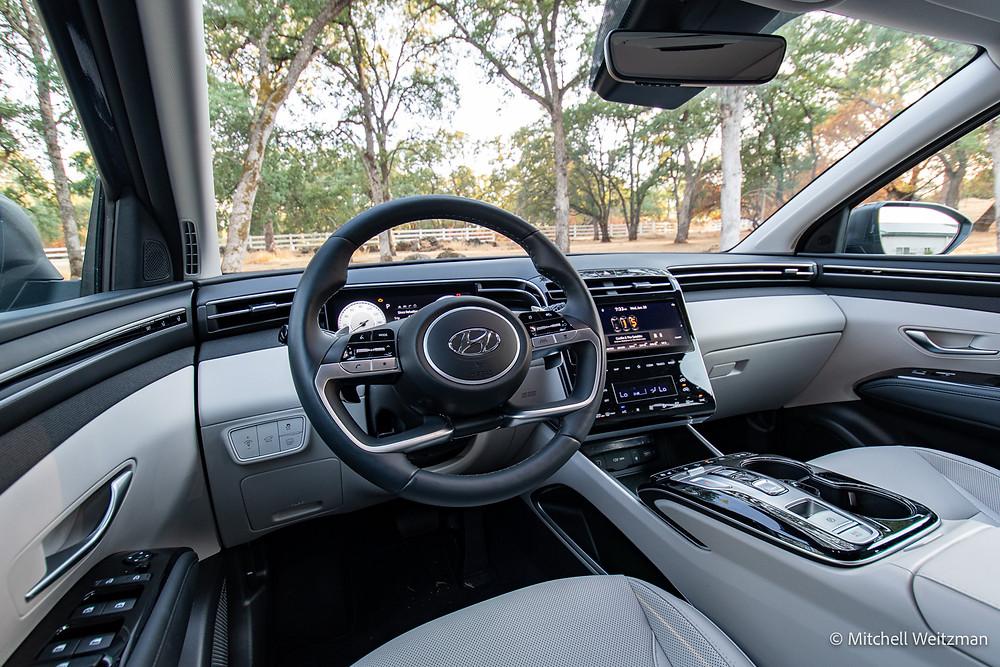 Hyundai Tucson hybrid review   The Road Beat
