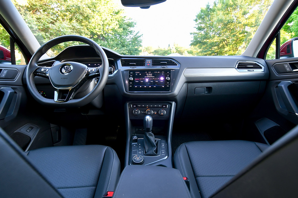 2020 VW Tiguan Interior Photo by The Road Beat
