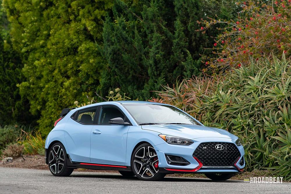 2021 Hyundai Veloster N Performance Blue