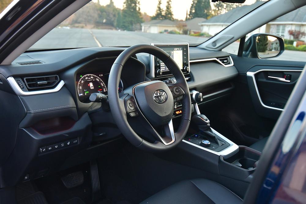 2021 toyota rav4 hybrid limited interior