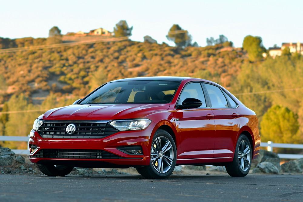 2020 VW Jetta in tornado red | The Road Beat