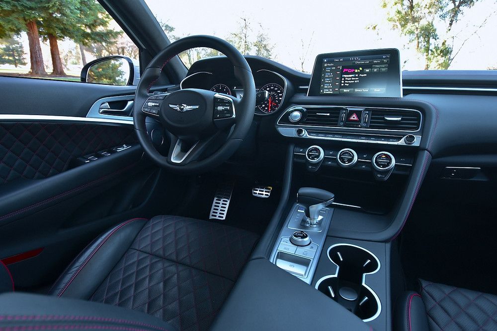 genesis g70 interior | the road beat