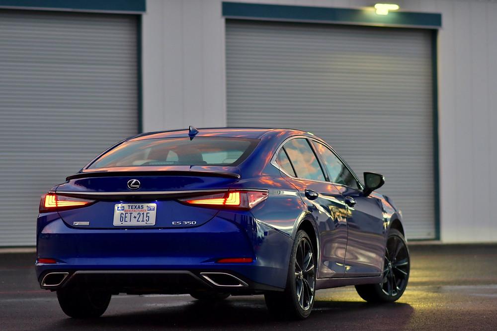 2021 Lexus ES 350 F Sport review | the road beat