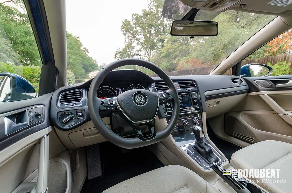 2021 Volkswagen Golf Interior Review | The Road Beat