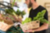 Panier de légume bio