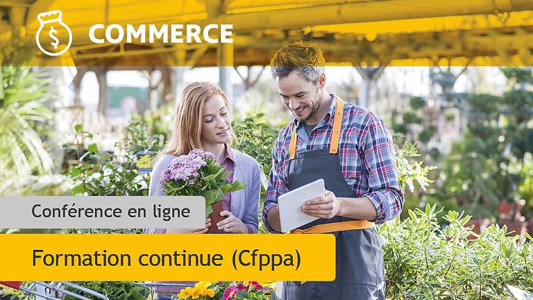 BTS Technico-Commercial Jardin et Végétaux d'Ornement (JVO)