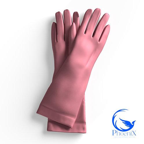 Pink Short gloves