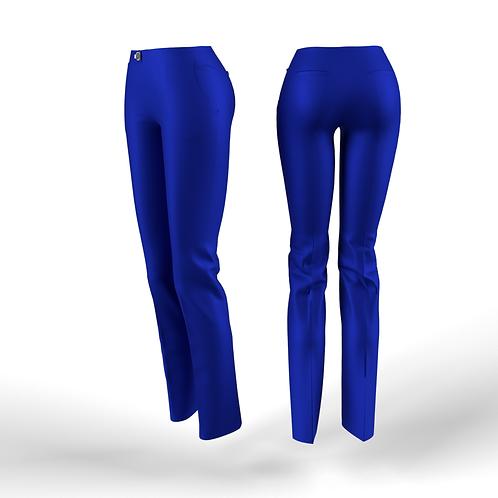 Blue low waist women Pants