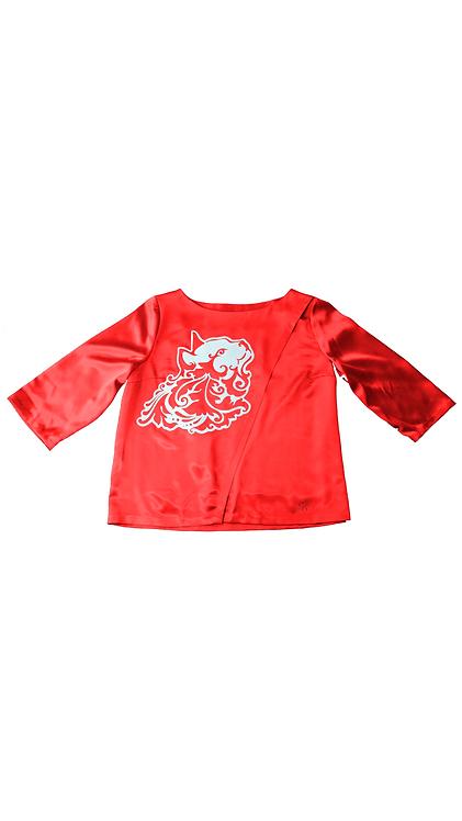 Dark Red Miciù Shirt