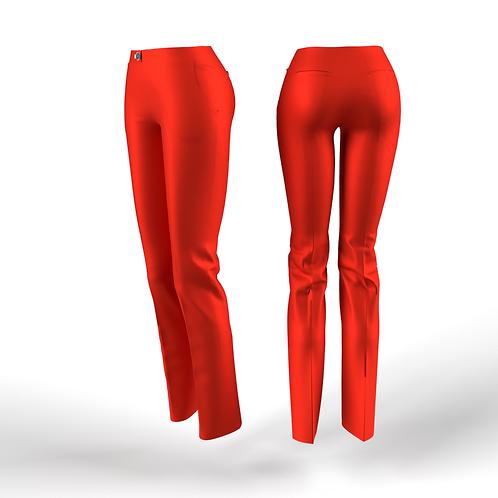 Orange Fluo low waist women  Pants