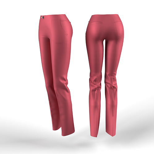 Pink low waist women Pants